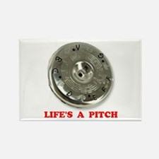 PITCH PIPE Rectangle Magnet