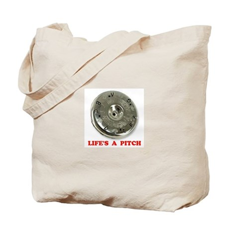 PITCH PIPE Tote Bag