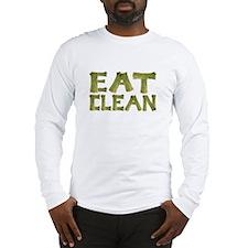 Eat Clean Long Sleeve T-Shirt