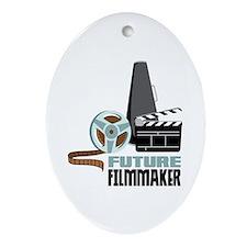 Future Filmmaker Ornament (Oval)