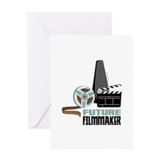 Future Filmmaker Greeting Cards