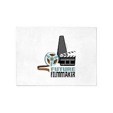 Future Filmmaker 5'x7'Area Rug