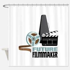 Future Filmmaker Shower Curtain