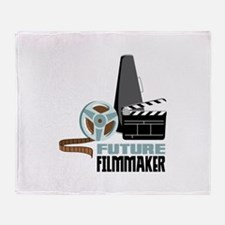 Future Filmmaker Throw Blanket