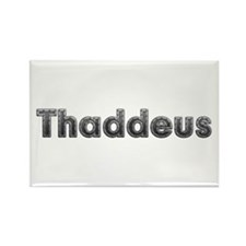 Thaddeus Metal Rectangle Magnet