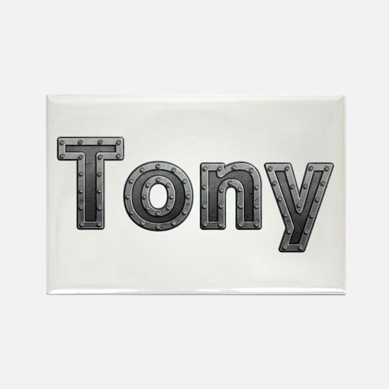 Tony Metal Rectangle Magnet
