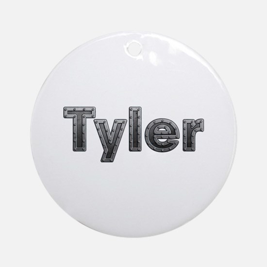 Tyler Metal Round Ornament