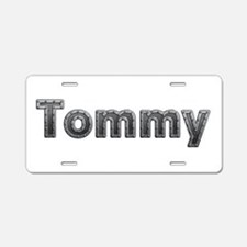 Tommy Metal Aluminum License Plate