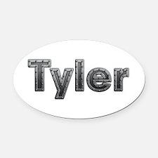 Tyler Metal Oval Car Magnet