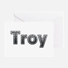 Troy Metal Greeting Card