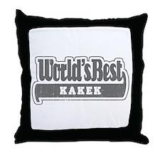 WB Grandpa [Indonesian] Throw Pillow