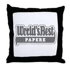 WB Grandpa [Cajun] Throw Pillow