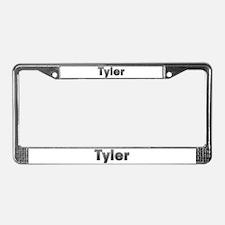 Tyler Metal License Plate Frame