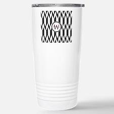 Minimal Pattern Monogra Travel Mug
