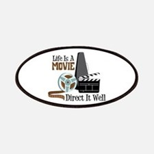 Life is a Movie Direct it Well Patches