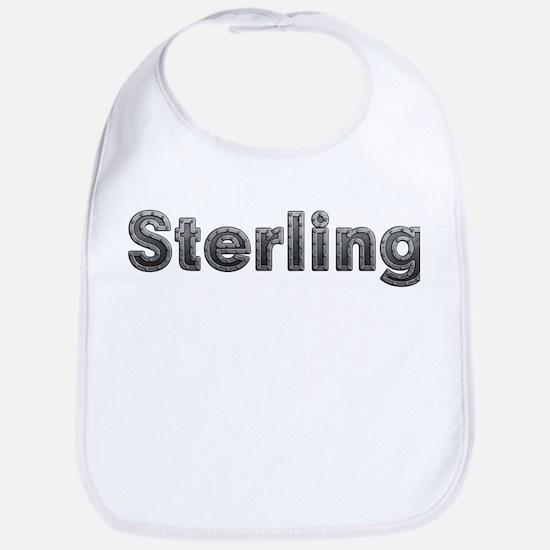 Sterling Metal Bib