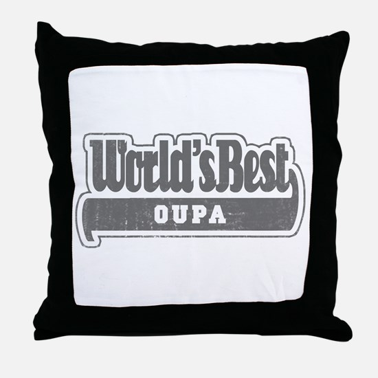 WB Grandpa [Afrikaans] Throw Pillow