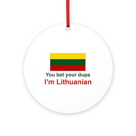 Lithuanian Dupa Ornament