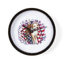 AmStaff Patriot Wall Clock