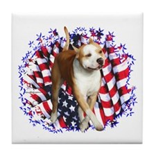 AmStaff Patriot Tile Coaster