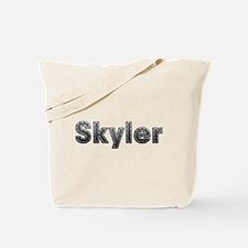 Skyler Metal Tote Bag