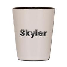 Skyler Metal Shot Glass
