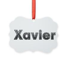 Xavier Metal Ornament