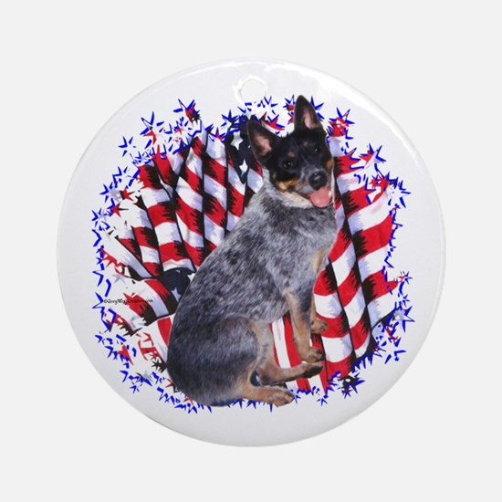 ACD Patriot Ornament (Round)