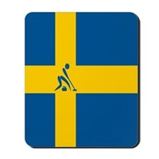 Team Curling Sweden Mousepad