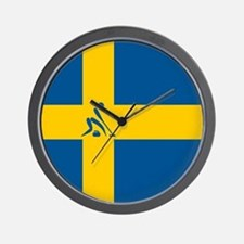 Team Curling Sweden Wall Clock
