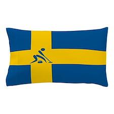 Team Curling Sweden Pillow Case