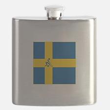 Team Curling Sweden Flask