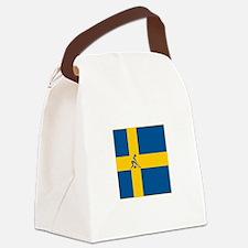 Team Curling Sweden Canvas Lunch Bag