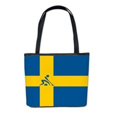 Team Curling Sweden Bucket Bag