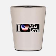 Mia Love I Love large d Shot Glass