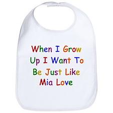 Mia Love when I grow up Bib