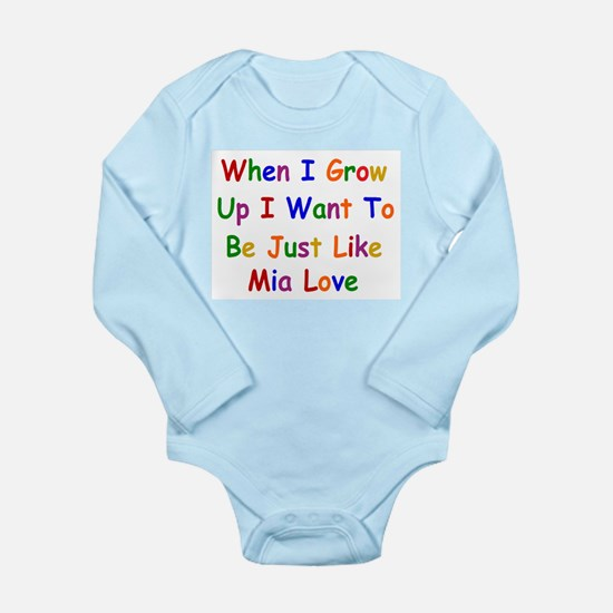 Mia Love when I grow up Body Suit