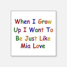 Mia Love when I grow up Sticker