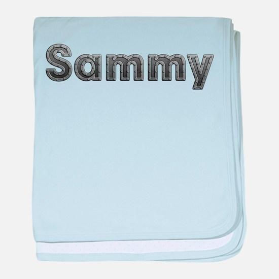 Sammy Metal baby blanket