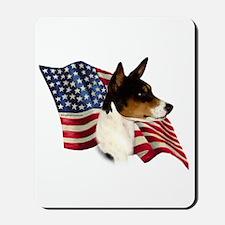 Basenji Flag Mousepad