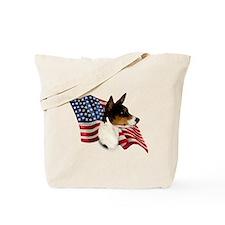Basenji Flag Tote Bag