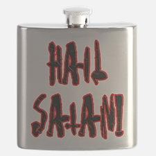 Hail Satan Flask