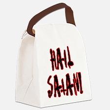 Hail Satan Canvas Lunch Bag