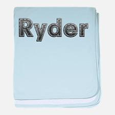 Ryder Metal baby blanket