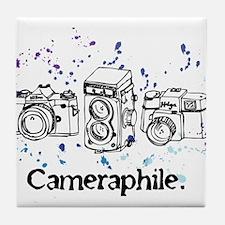 Cameraphile Tile Coaster