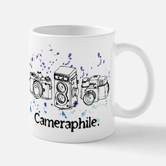 Cameraphile Mugs