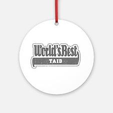 WB Grandpa [Welsh] Ornament (Round)