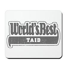 WB Grandpa [Welsh] Mousepad