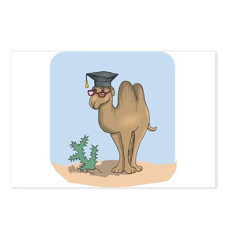 Smart Graduate Camel Postcards (Package of 8)