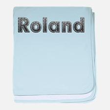 Roland Metal baby blanket